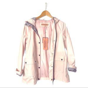 Urban Republic Girls Pink Hooded Raincoat